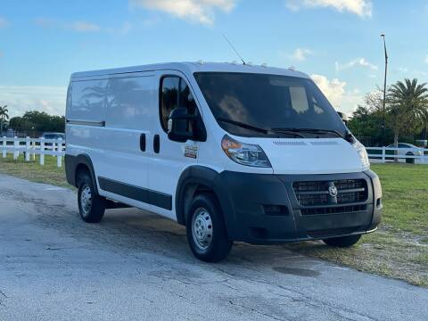 2018 RAM ProMaster Cargo for sale at Sunshine Auto Sales in Oakland Park FL