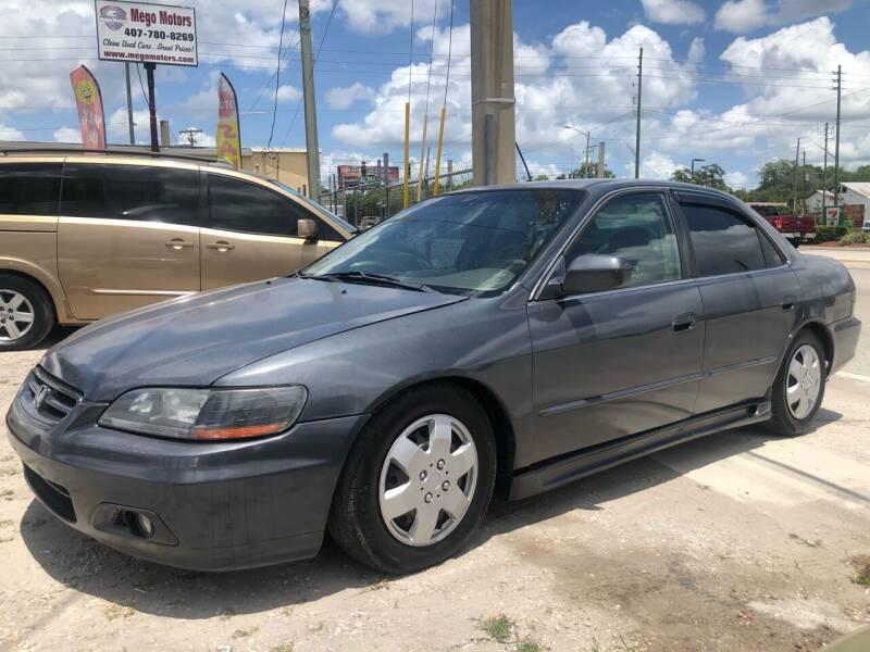 2001 Honda Accord for sale at Mego Motors in Orlando FL