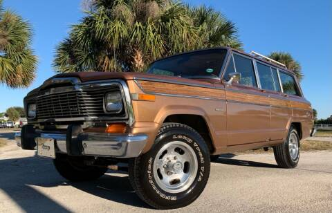 1979 Jeep Grand Wagoneer for sale at PennSpeed in New Smyrna Beach FL