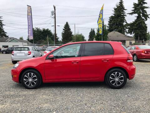 2011 Volkswagen Golf for sale at A & V AUTO SALES LLC in Marysville WA