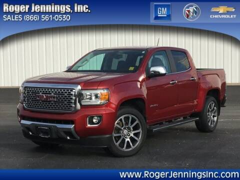2018 GMC Canyon for sale at ROGER JENNINGS INC in Hillsboro IL