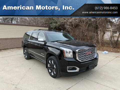 2019 GMC Yukon XL for sale at American Motors, Inc. in Farmington MN