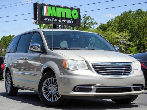 2014 Chrysler Town and Country for sale at Used Imports Auto - Metro Auto Credit in Smyrna GA