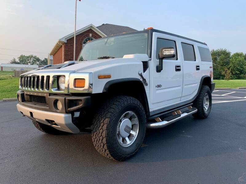 2008 HUMMER H2 for sale at HillView Motors in Shepherdsville KY
