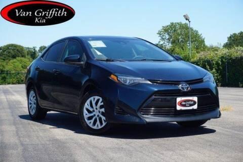 2018 Toyota Corolla for sale at Van Griffith Kia Granbury in Granbury TX