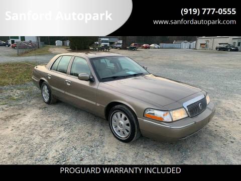 2005 Mercury Grand Marquis for sale at Sanford Autopark in Sanford NC