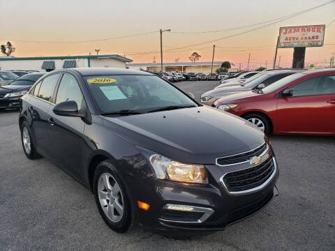 2016 Chevrolet Cruze Limited for sale at Jamrock Auto Sales of Panama City in Panama City FL