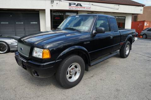 2003 Ford Ranger for sale at PA Motorcars in Conshohocken PA