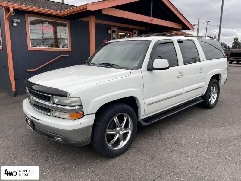 2001 Chevrolet Suburban for sale at Sabeti Motors in Tacoma WA