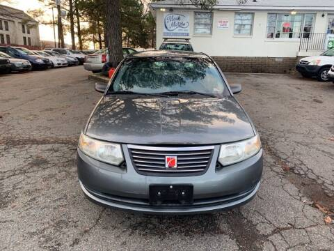2005 Saturn Ion for sale at MEEK MOTORS in North Chesterfield VA