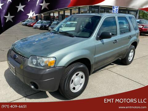 2005 Ford Escape for sale at EMT MOTORS LLC in Portland OR