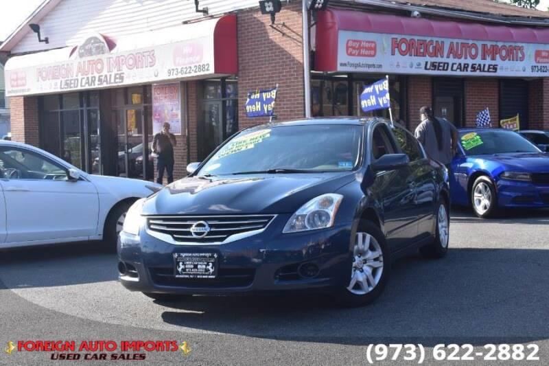2010 Nissan Altima for sale at www.onlycarsnj.net in Irvington NJ