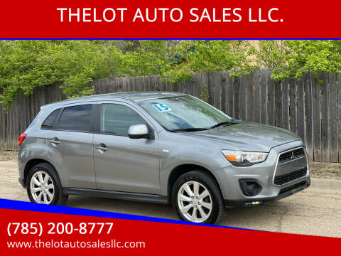 2015 Mitsubishi Outlander Sport for sale at THELOT AUTO SALES LLC. in Lawrence KS