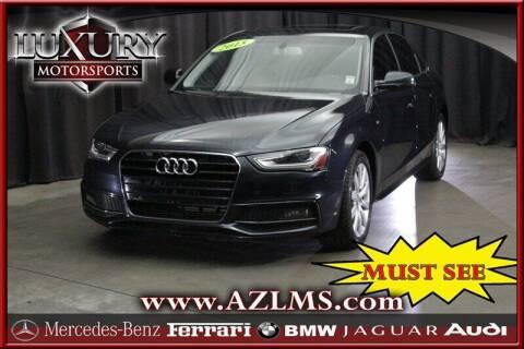 2015 Audi A4 for sale at Luxury Motorsports in Phoenix AZ