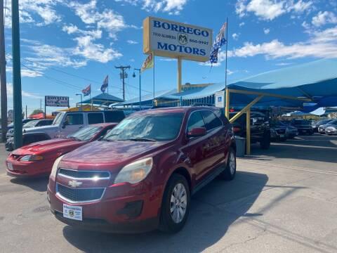 2010 Chevrolet Equinox for sale at Borrego Motors in El Paso TX