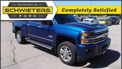 2018 Chevrolet Silverado 2500HD for sale at Schwieters Ford of Montevideo in Montevideo MN