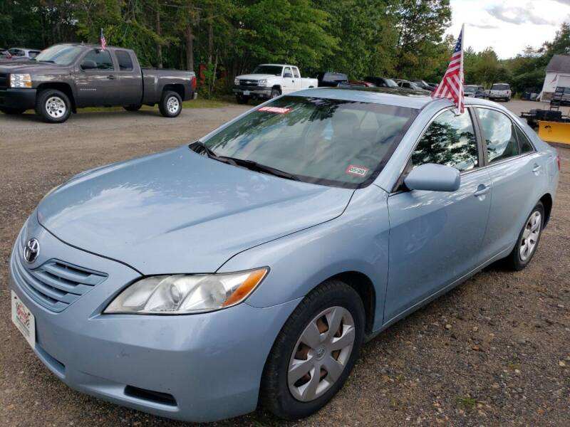 2008 Toyota Camry for sale at Winner's Circle Auto Sales in Tilton NH