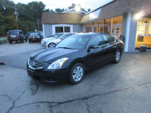 2010 Nissan Altima for sale at Millbrook Auto Sales in Duxbury MA