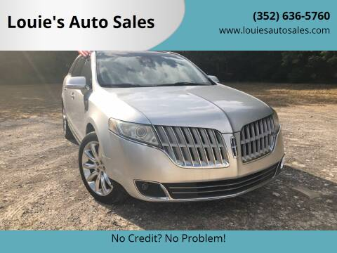 2010 Lincoln MKT for sale at Louie's Auto Sales in Leesburg FL