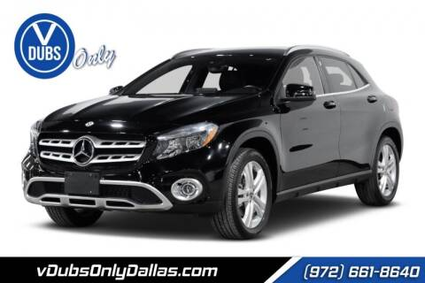 2019 Mercedes-Benz GLA for sale at VDUBS ONLY in Dallas TX