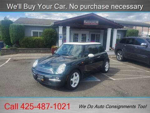 2003 MINI Cooper for sale at Platinum Autos in Woodinville WA