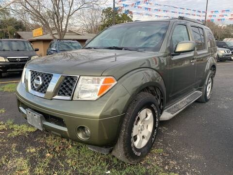 2005 Nissan Pathfinder for sale at John 3:16 Motors in San Antonio TX