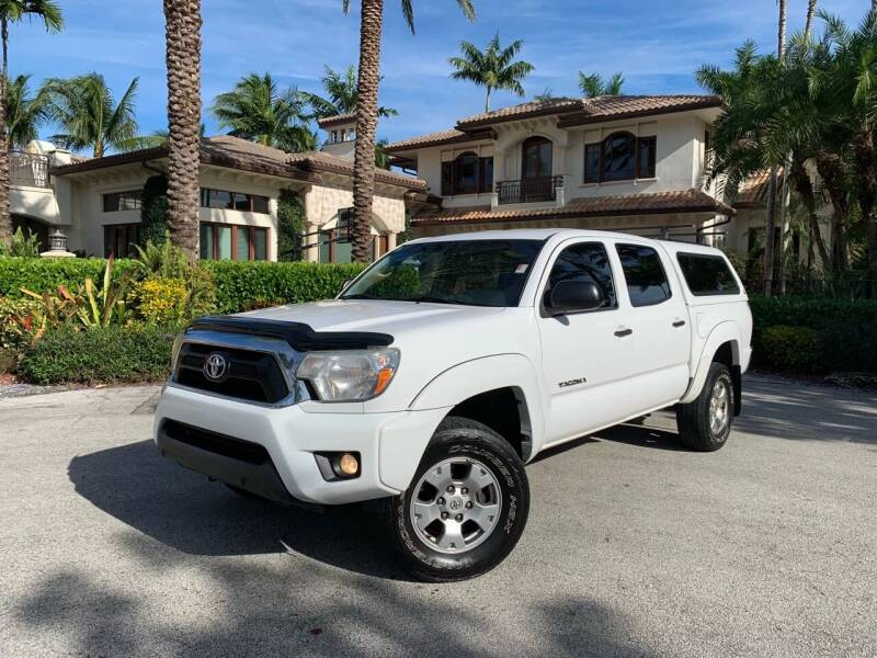 2012 Toyota Tacoma for sale at Citywide Auto Group LLC in Pompano Beach FL