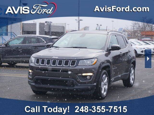 2018 Jeep Compass for sale at Work With Me Dave in Southfield MI