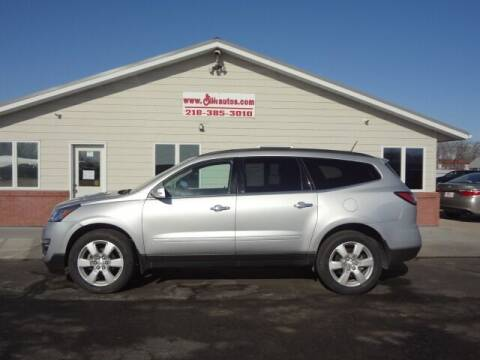 2017 Chevrolet Traverse for sale at GIBB'S 10 SALES LLC in New York Mills MN