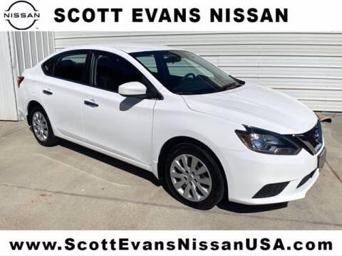 2019 Nissan Sentra for sale at Scott Evans Nissan in Carrollton GA