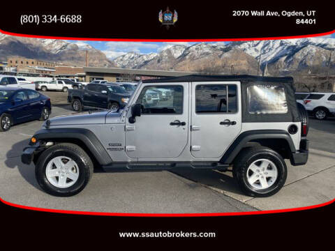 2017 Jeep Wrangler Unlimited for sale at S S Auto Brokers in Ogden UT