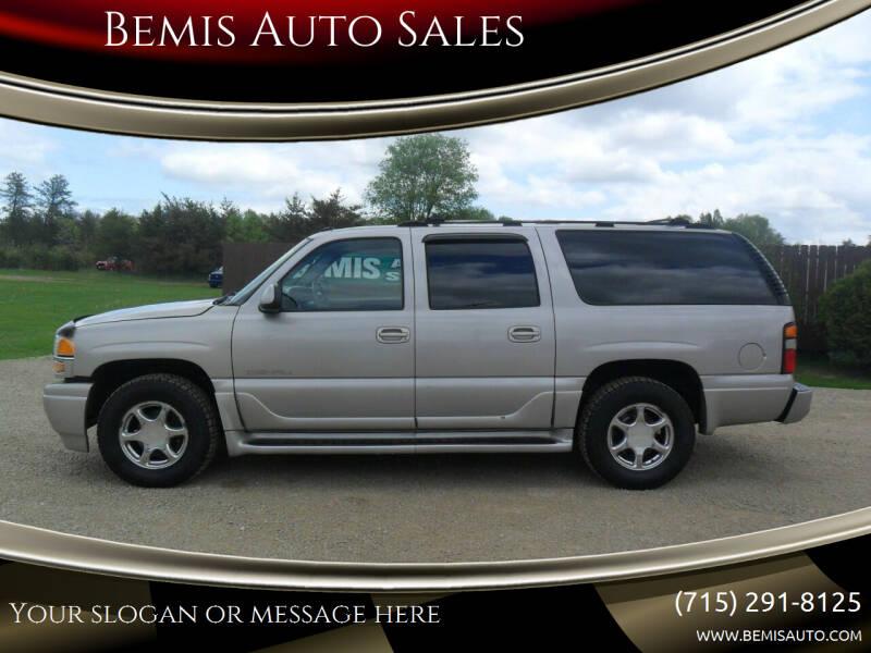 2004 GMC Yukon XL for sale at Bemis Auto Sales in Crivitz WI