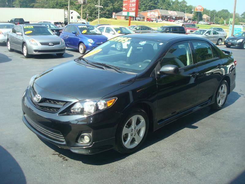 2013 Toyota Corolla for sale at Mike Lipscomb Auto Sales in Anniston AL