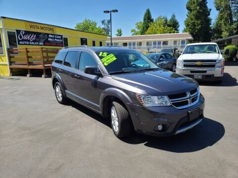 2015 Dodge Journey for sale at SWIFT AUTO SALES INC in Salem OR