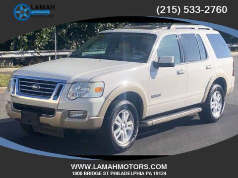 2008 Ford Explorer for sale at LAMAH MOTORS INC in Philadelphia PA