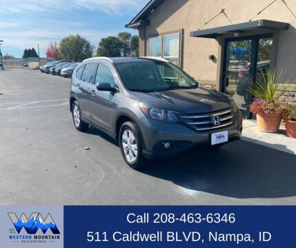 2014 Honda CR-V for sale at Western Mountain Bus & Auto Sales in Nampa ID