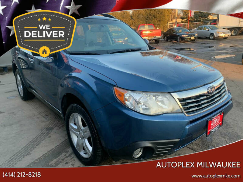 2010 Subaru Forester for sale at Autoplex 2 in Milwaukee WI