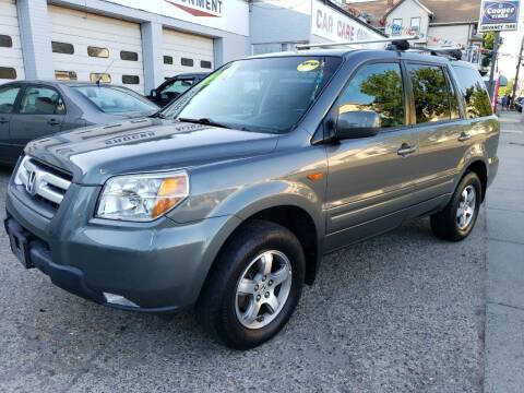 2008 Honda Pilot for sale at Devaney Auto Sales & Service in East Providence RI