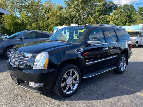 2011 Cadillac Escalade for sale at MetroWest Auto Sales in Worcester MA