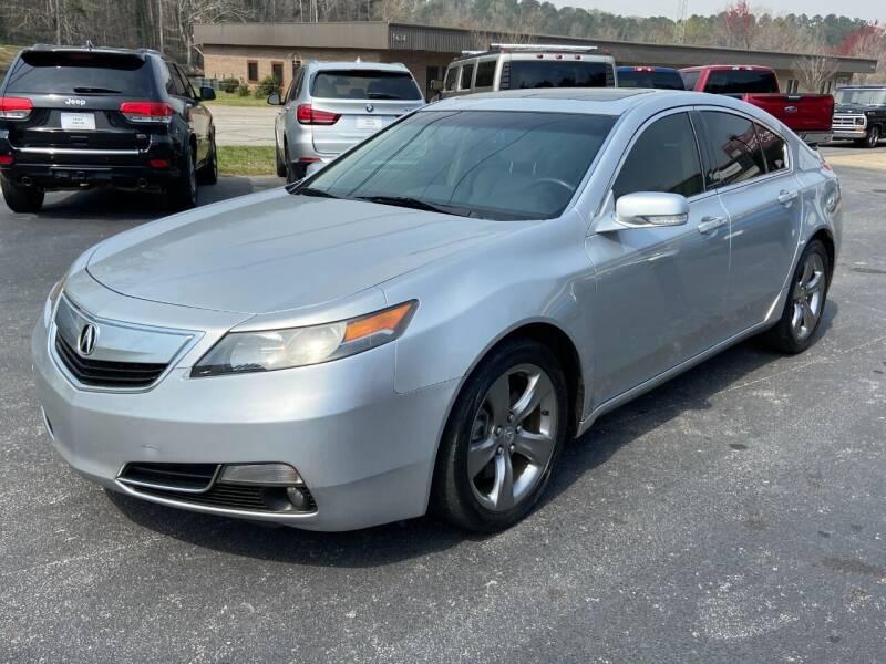 2012 Acura TL for sale at Luxury Auto Innovations in Flowery Branch GA