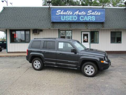 2011 Jeep Patriot for sale at SHULTS AUTO SALES INC. in Crystal Lake IL