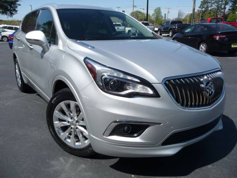2017 Buick Envision for sale at Wade Hampton Auto Mart in Greer SC