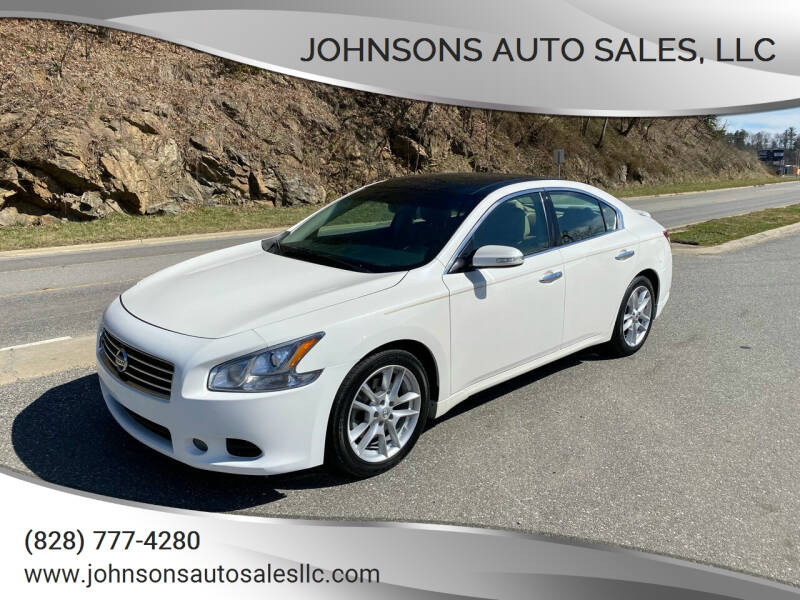 2010 Nissan Maxima for sale at Johnsons Auto Sales, LLC in Marshall NC