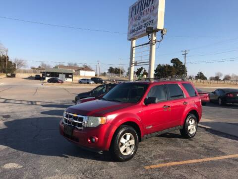 2008 Ford Escape for sale at Patriot Auto Sales in Lawton OK
