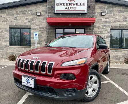 2017 Jeep Cherokee for sale at GREENVILLE AUTO in Greenville WI
