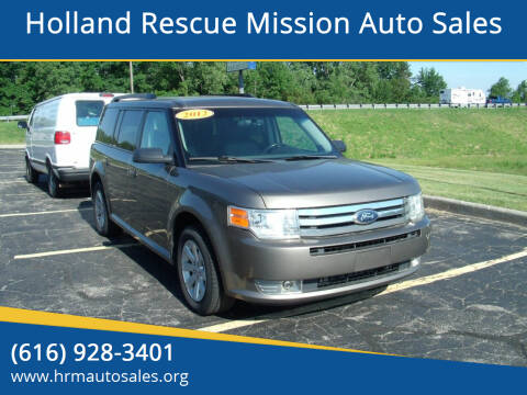 2012 Ford Flex for sale at Holland Rescue Mission Auto Sales in Holland MI