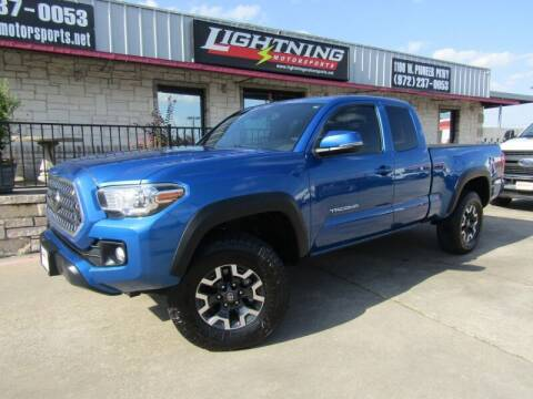 2018 Toyota Tacoma for sale at Lightning Motorsports in Grand Prairie TX