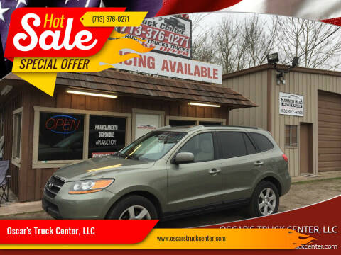 2008 Hyundai Santa Fe for sale at Oscar's Truck Center, LLC in Houston TX