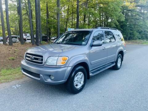 2002 Toyota Sequoia for sale at H&C Auto in Oilville VA