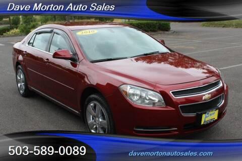 2010 Chevrolet Malibu for sale at Dave Morton Auto Sales in Salem OR